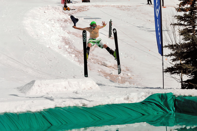 Pond skimming 2014