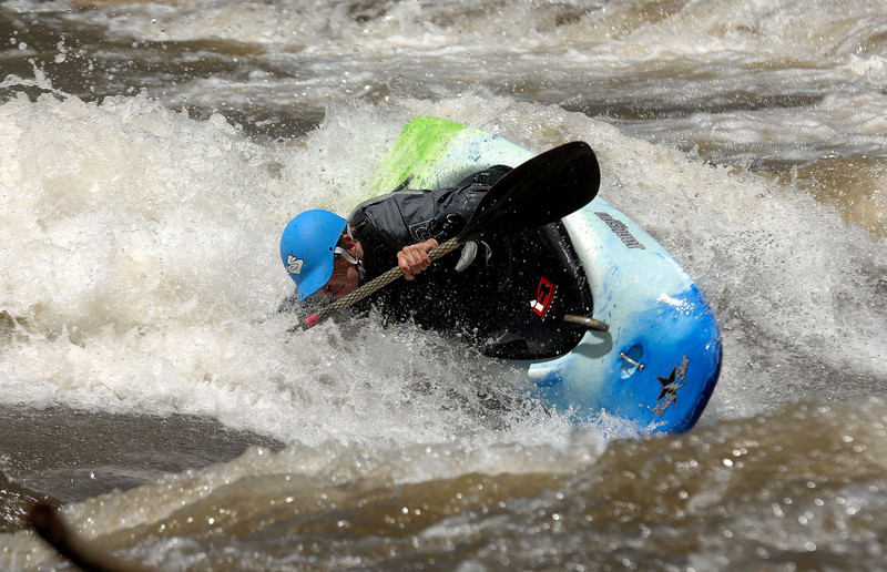 Kayak on Gunnison river