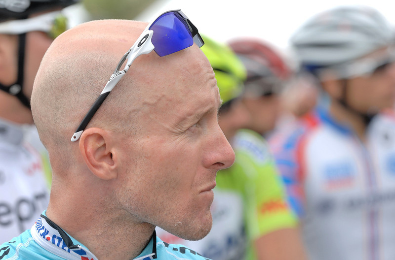 Levi Leipheimer ( Usa pro cycling 2011 winner ) .<br /> Lost the yellow jersey on the last stage in 2012 .  He finished 3rd  overall ( 24 seconds behind Van de Velde )