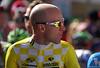 Levi Leipheimer before stage 2 start in Gunnison