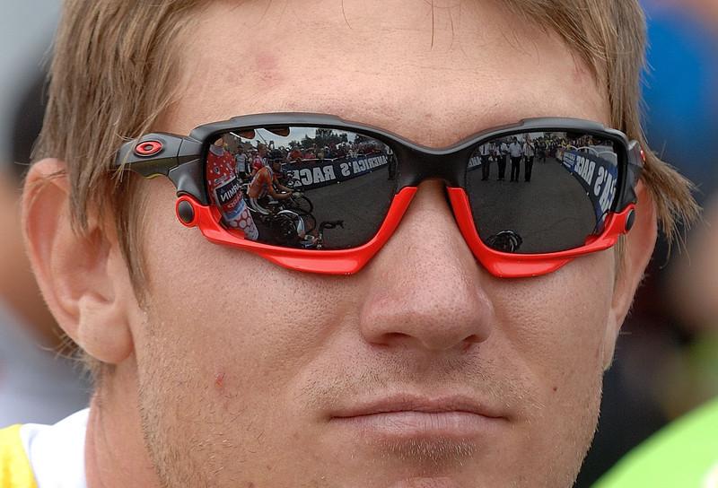 Tejay Van Garderen overall leader.