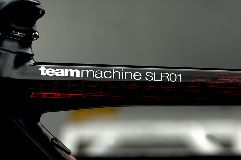 Team Machine Slr01 ( Tejay Van Garderen bike ) BMC team