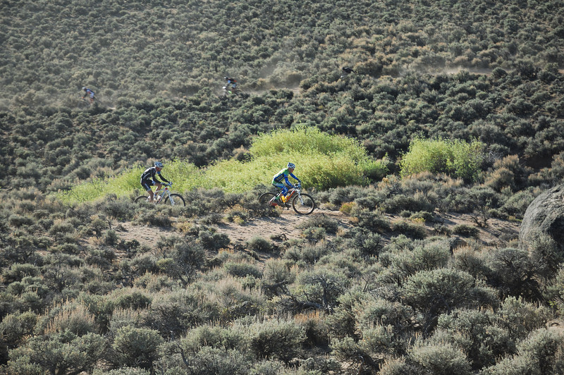 Full Growler Race ( Gunnison 2012 ) 64 miles ...Brian Smith & Beisel Kalan