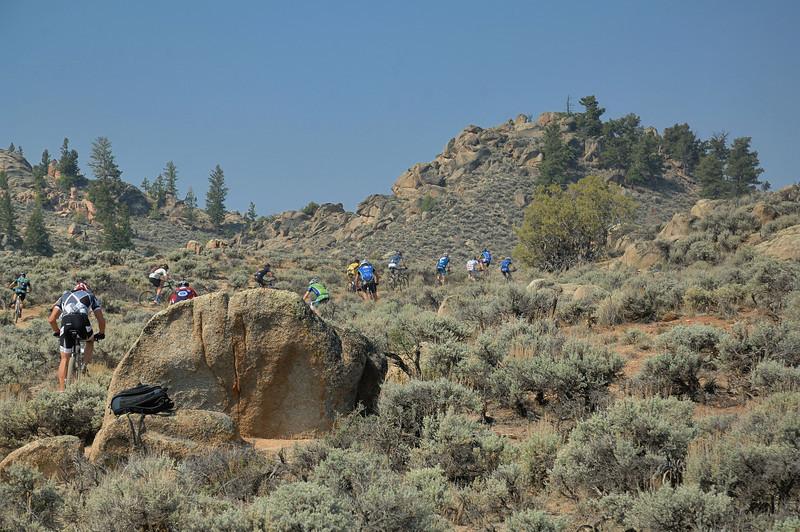 Half Growler Race (Gunnison2012)  32 miles
