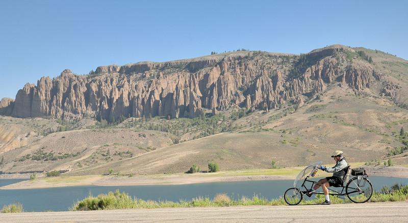 Ride  the Rockies  at Blue Mesa