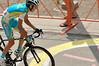 Fabio Aru ( Team Astana )...he finish second on the 6th stage arriving at Flagstaff moutain top in Boulder