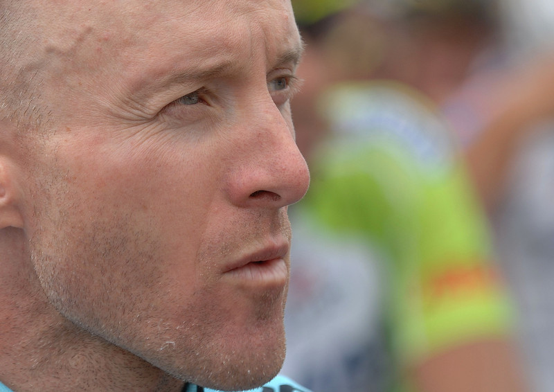 Levi Leipheimer , took the yellow jersey on  stage 6 ( top of Flagstaff ) Golden-Boulder