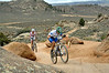 Full Growler Race (Gunnison 2012) 64 miles ...Holick Greg (green helmet) 81th  7h 02mn 23s...Martin Joshua 82th  7h 02mn 58s