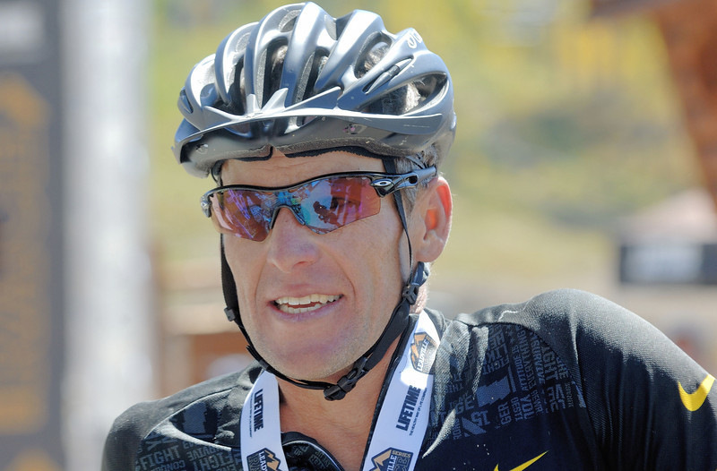 Alpine Odyssey 2012 -After the race - Lance Armstrong