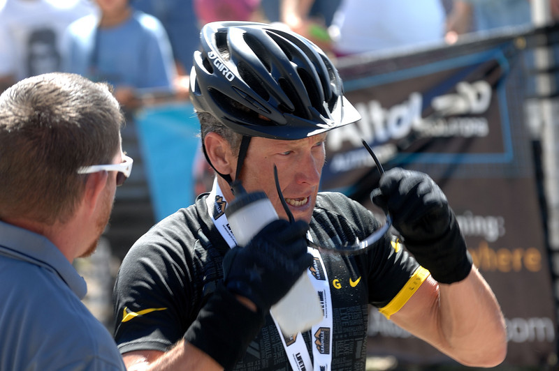 Alpine Odyssey 2012 - After the race  - Lance Armstrong