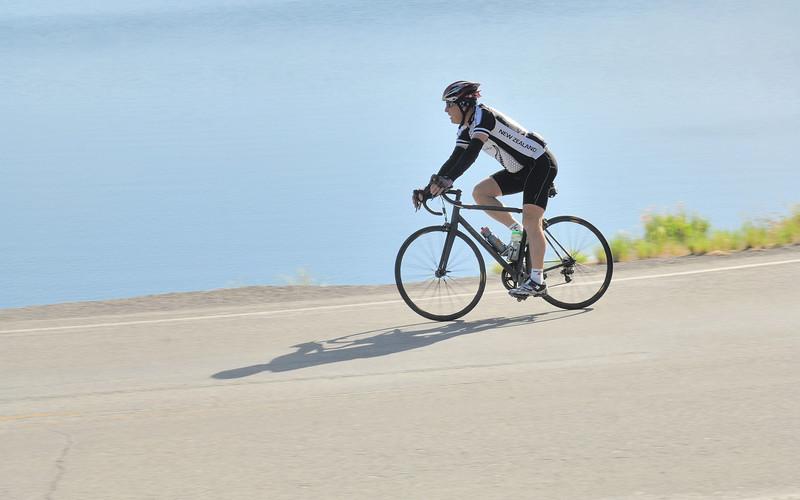Ride the Rockies 2012  at Blue Mesa