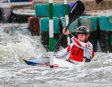 K1 Men - GB Selection Trials 2013 - 2nd Run - Sat - Nottingham