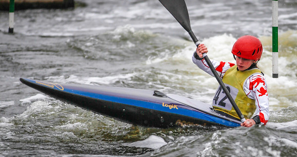 K1 Women - GB Selection Trials 2013 - 2nd Run - Sat - Nottingham