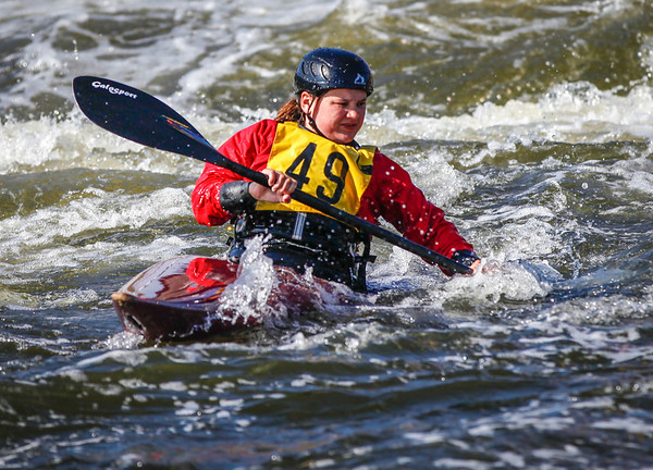 K1 Women - GB Selection Trials 2013 - 1st Run - Sat - Nottingham