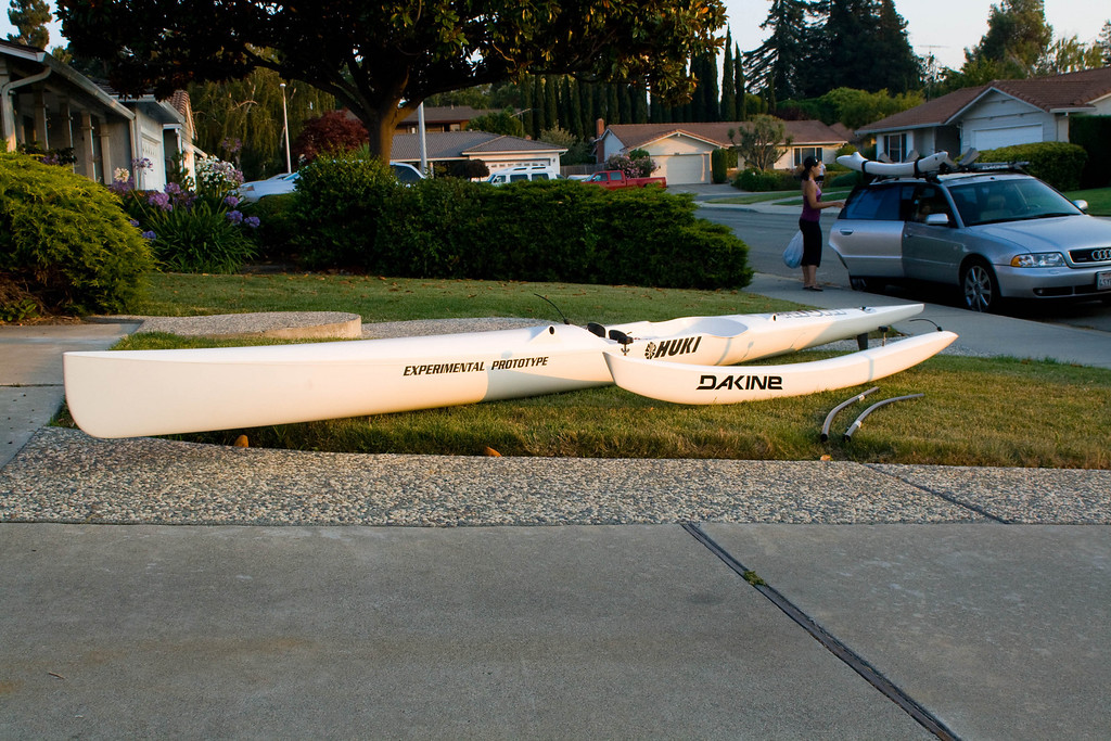 For Sale Huki V1 Z Surfski Outrigger Canoe Hybrid