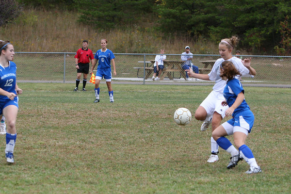 Girls Varsity vs Morgantown, 9/27
