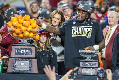Capital One Orange Bowl, 2016.  FSU defeated Michigan 33-32.