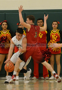 District 2-5A boy's basketball playoff game between Española and Capital played Monday, February 20, 2017 at Griffith Gymnasium, Los Alamos High School. Clyde Mueller/The New Mexican