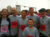 Our Team looking fresh and ready just before the start of the race.