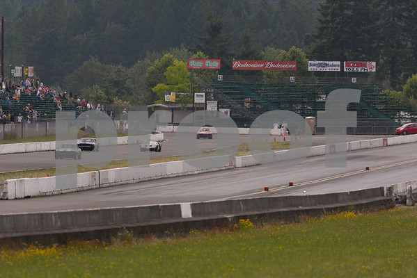 Vintage Car Races at Pacific Raceways, Turn 1