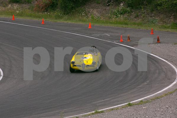 Vintage Car Races at Pacific Raceways