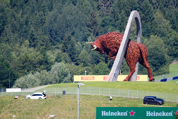 F1 Red Bull Ring Oostenrijk 2017