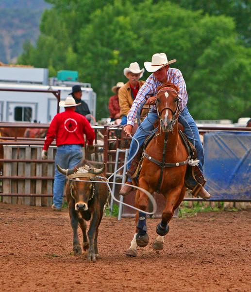 John Vaugner Carbondale Wildwest Rodeo
