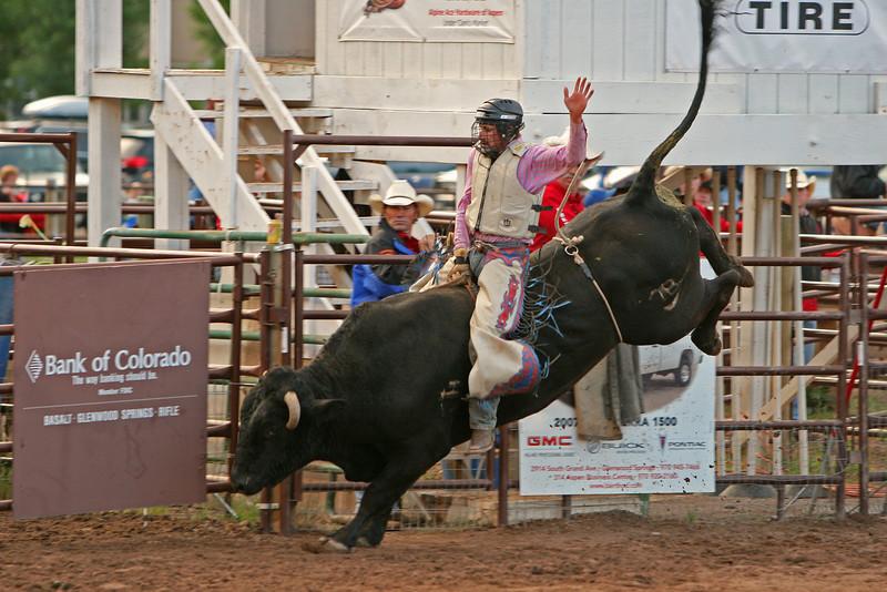 Johnny Rebel Carbondale Wildwest Rodeo