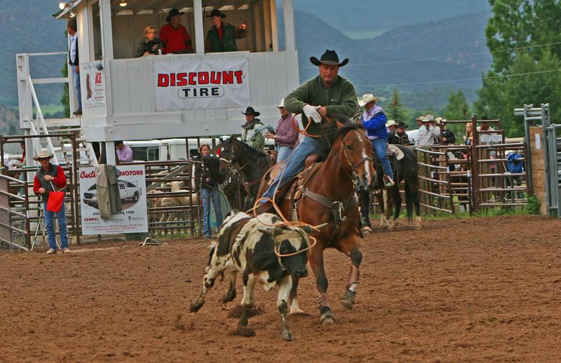 Jeff Burtard Carbondale Wildwest Rodeo