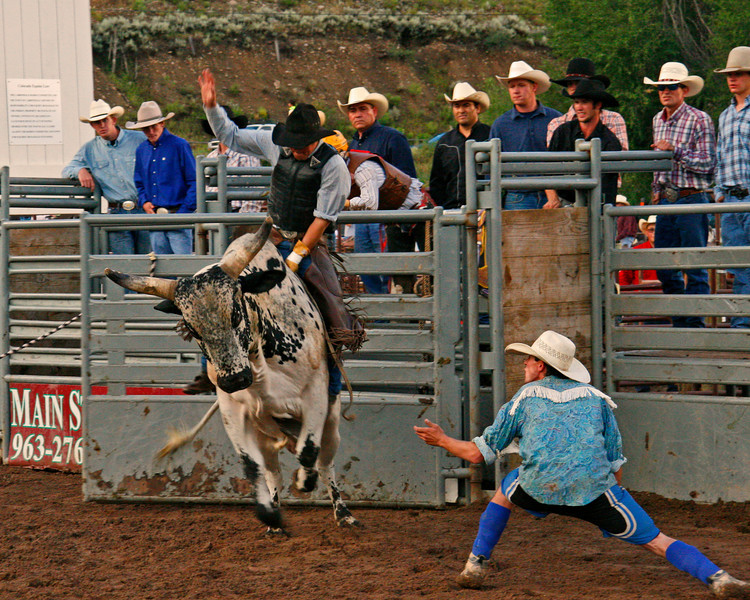 Bull rider Scott Mc Brayer of Marble had a good ride. I was able to get about 19 exposures of this ride. If your interested in this series contact me by email to view the rest.