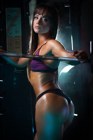 Cari at Gym