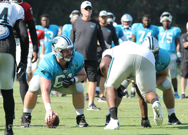 Carolina Panthers #61 Matt Paradis