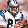 10/17/99: SanFrancisco, CA:  Carolina Panther's Wesley Walls runs into the endzone untouched for a Touchdown Sunday afternoon against SanFrancisco.  The  Carolina Panthers went on to Win 31-29 Sunday afternoon.