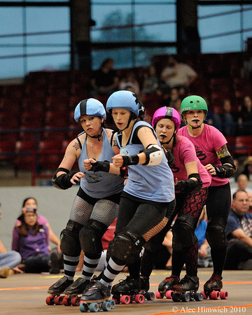 Carolina Roller Girls <br /> Dorton Arena<br /> Raleigh, NC<br /> May 18, 2008
