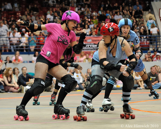 Carolina Roller Girls<br /> Dorton Arena<br /> Raleigh, NC<br /> May 18, 2008