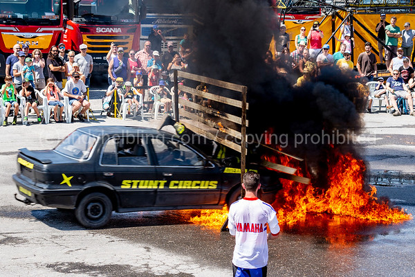 Hollywood Stunt Show, Sarnen, 8.7.2018