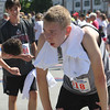 Annual 2-mile John Carson Road Race before the Chelmsford 4th of July parade. Drew Fottler of Chelmsford. (SUN/Julia Malakie)