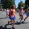 Annual 2-mile John Carson Road Race before the Chelmsford 4th of July parade. Laura Cancella (#1852) of Chelmsford. (SUN/Julia Malakie)