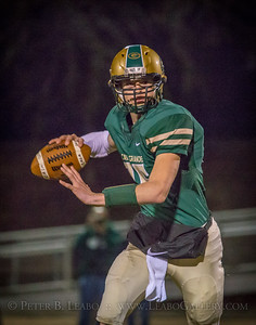 Casa Grande quarterback rolls out to pass in the third quarter against Miramonte.