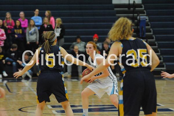 Cascade at Northeast girls basketball — Class 3A first round (2-13-16)