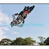 Le 25 septembre 2011 à Oron-la-Ville.<br /> Hollywood Stunt and Action Show (Germany). Ici, un motard français.