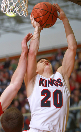 3-22-14<br /> Cass vs. Westview Semi-State<br /> Austin Keisling goes up for a shot.<br /> KT photo | Kelly Lafferty