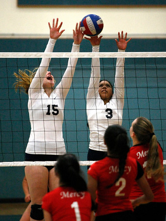 Catalina vs. Mercy Volleyball -111313