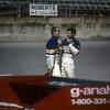 Al Holbert, Al Unser Jr<br /> 24 Hrs Daytona, Lowenbrau Porsche 962, Kodachrome 1986
