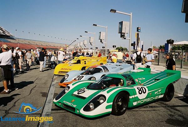 """Steve McQueens Gulf Porsche 917 No. 20<br /> Star of movie """"Le Mans"""""""
