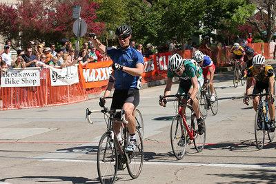 Cat 4 winner Patrick Ruggles