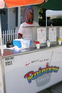 Michael the ice cream man