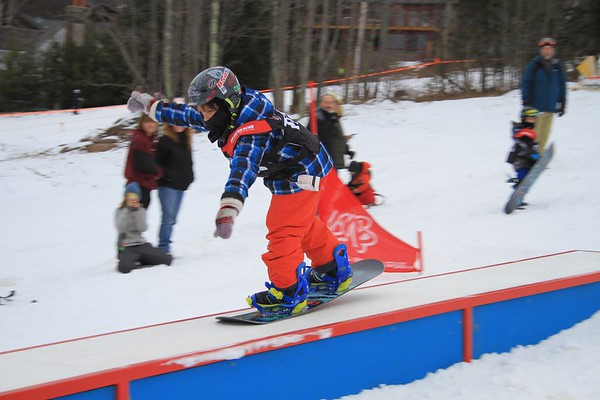 1/17/2016 Rail Jam #2 at Windham Mountain