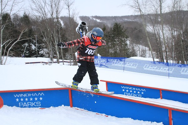 12/16/2017 Rail Jam #1 at Windham Mountain