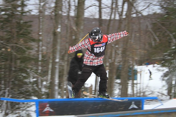 1/23/2016 Slopestyle #1 at Belleayre Mountain